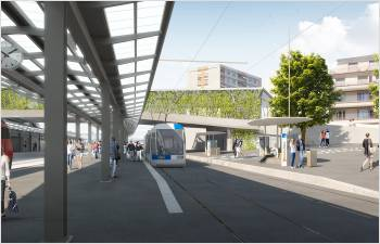 La construction du tramway entre Lausanne et Renens devient réalité