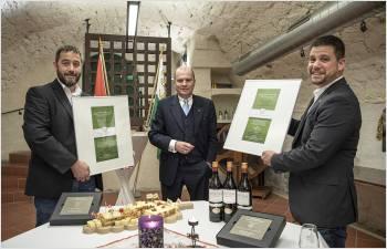 Le Conseil d'État a sélectionné son vin et son fromage pour 2021