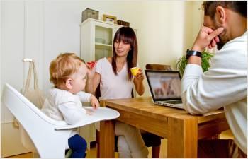 Enfants en bas âge et progression du niveau de vie