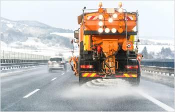 Entretien hivernal sur les routes et les autoroutes du canton